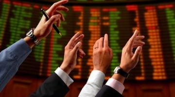 ידיים בבורסה