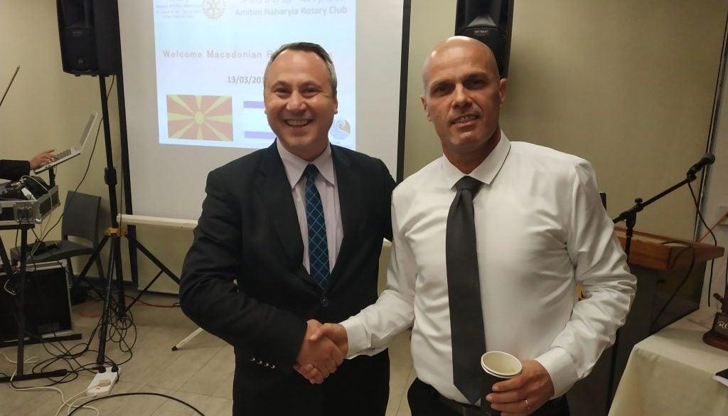 עם שגריר מקדוניה