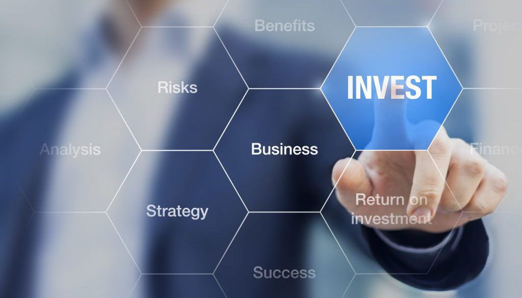 Teacher presenting investment strategy to become a successful bu