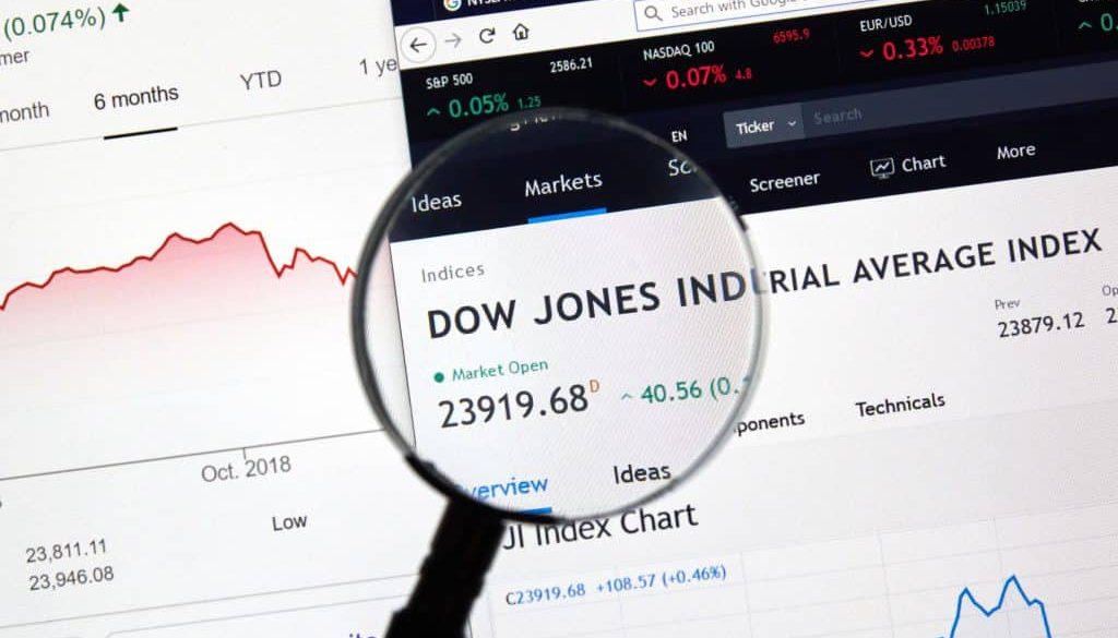 Dow Jones Industrial Average DJI